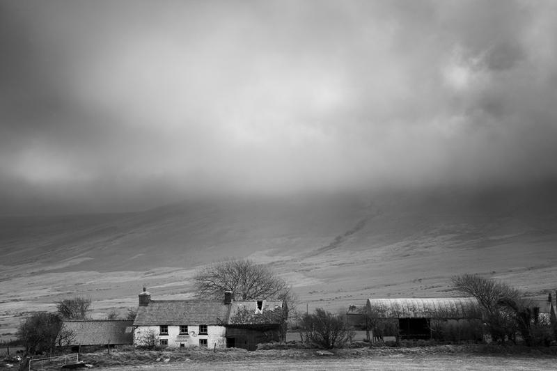 Abandoned Farm, The Preseli Hills, Pembrokeshire Wales