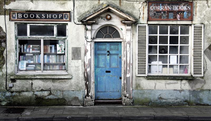 Laugharne Bookshop, Carmarthenshire Wales