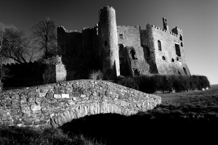 Laugharne Castle, Carmarthenshire Wales