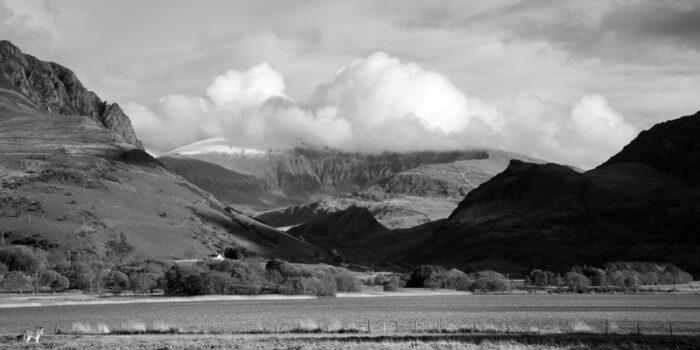 Mount Snowdon from Llyn Nantlle