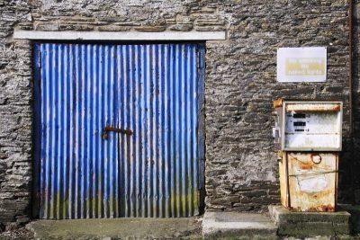 Petrol Pump, Mathry, Pembrokeshire Wales