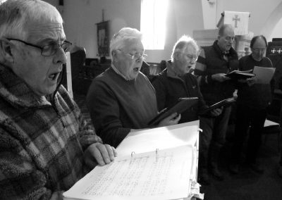 The Village - A 'Wrong Direction' choir rehearsal